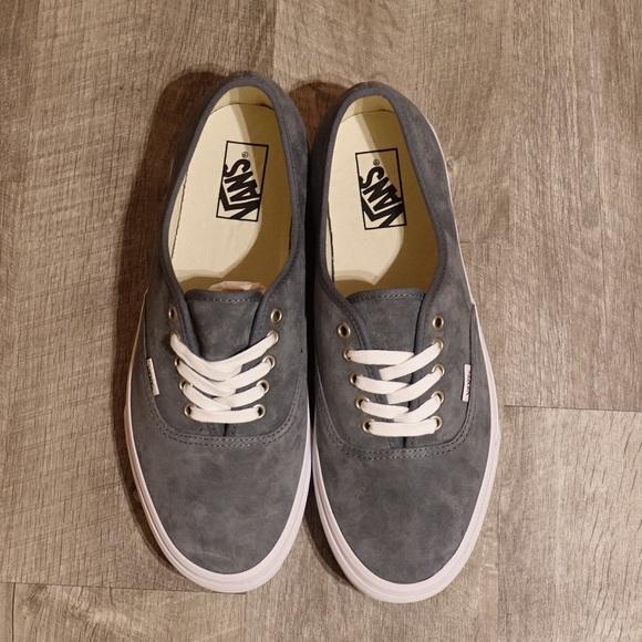 Vans Shoes | New Vans Stormy Grey Pig